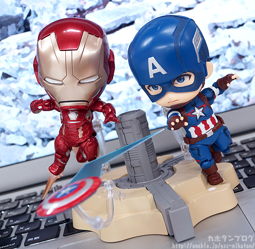 Nendoroid Captain America - Avengers - Good Smile Company gallery 08
