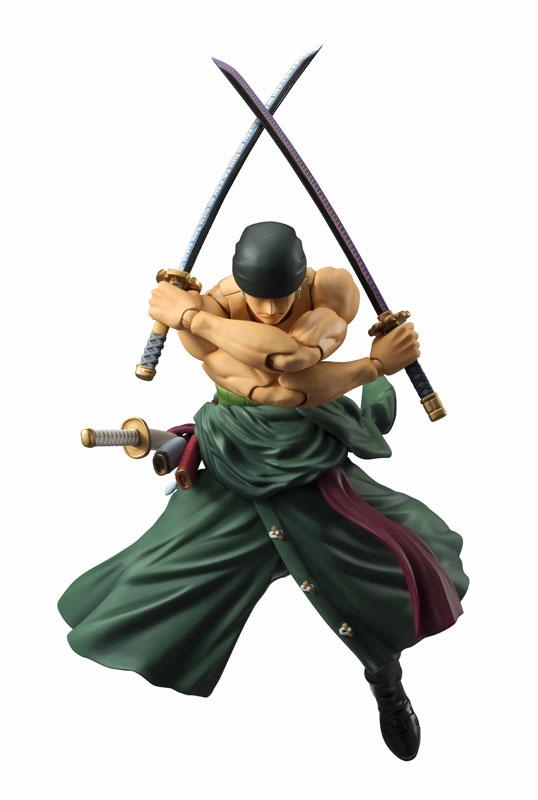 Roronoa Zoro Variable Action Heroes di MegaHouse ristampa Itakon.it -0005