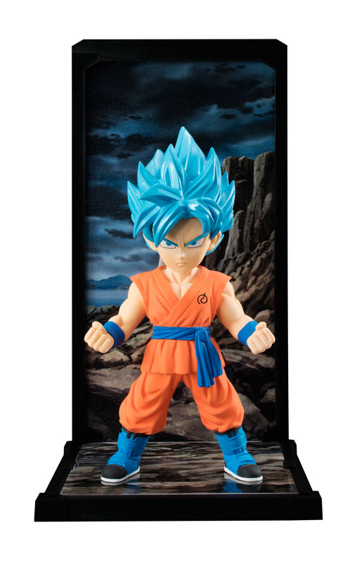 Goku Super Saiyan God SS Tamashii Buddies Dragon Ball Super Bandai pre 01