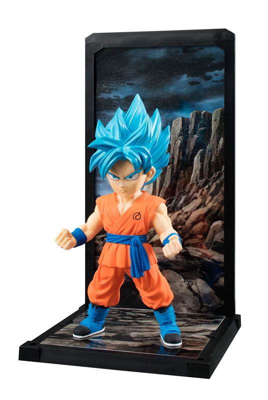 Goku Super Saiyan God SS Tamashii Buddies Dragon Ball Super Bandai pre 02