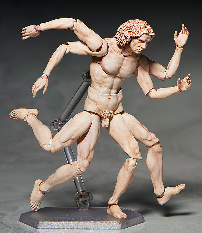 figma VItruvian Man The Table Museum FREEing pre 03
