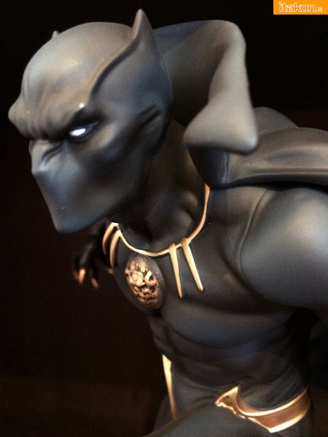 Marvel Comics Black Panther Fine Art Statue - Kotobukiya - Recensione Bossborot - Foto 27