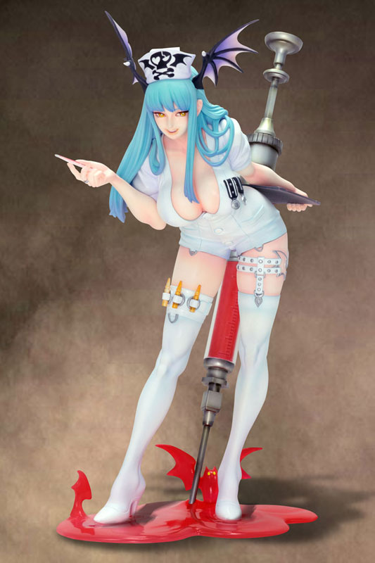 Morrigan Nurse Capcom preorder 01