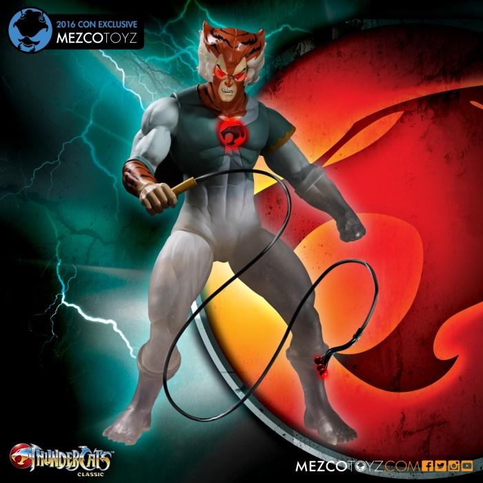 Thundercats – Phasing Tygra Mega Scale Figure