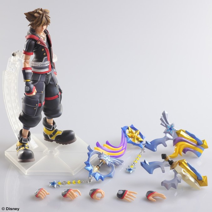 Kingdom Hearts III - Sora - Play Arts Kai - Square Enix - Foto 05