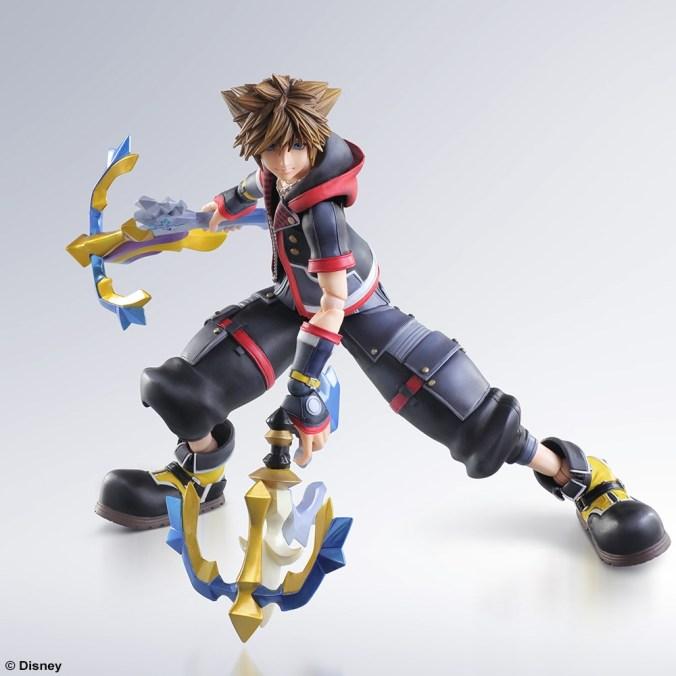 Kingdom Hearts III - Sora - Play Arts Kai - Square Enix - Foto 06