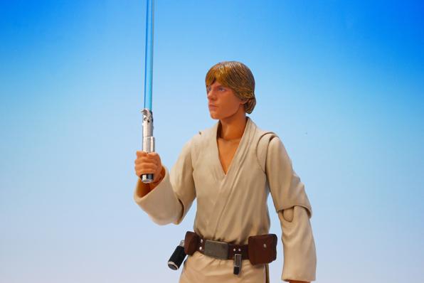 Luke Skywalker SH Figuarts Bandai pics 11