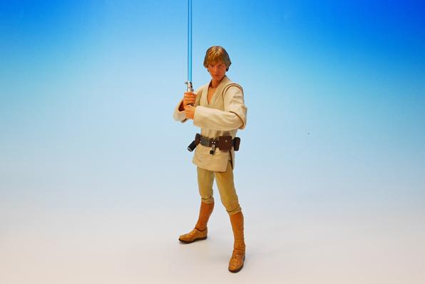 Luke Skywalker SH Figuarts Bandai pics 12