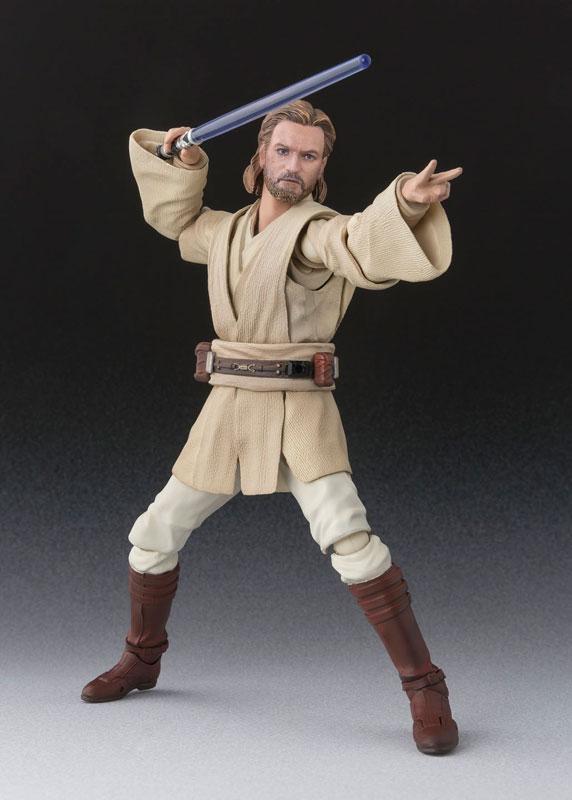 Obi-Wan Kenobi SH Figuarts Star Wars Bandai pre 05
