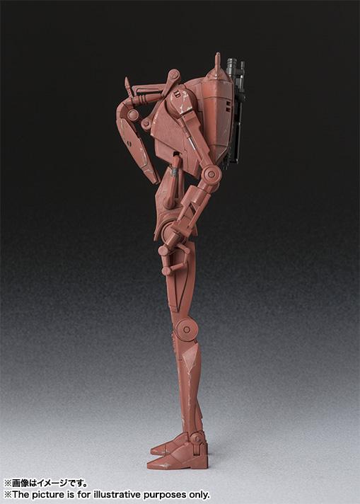 Star Wars Battle Droid Geonosis SH Figuarts Bandai pics 04