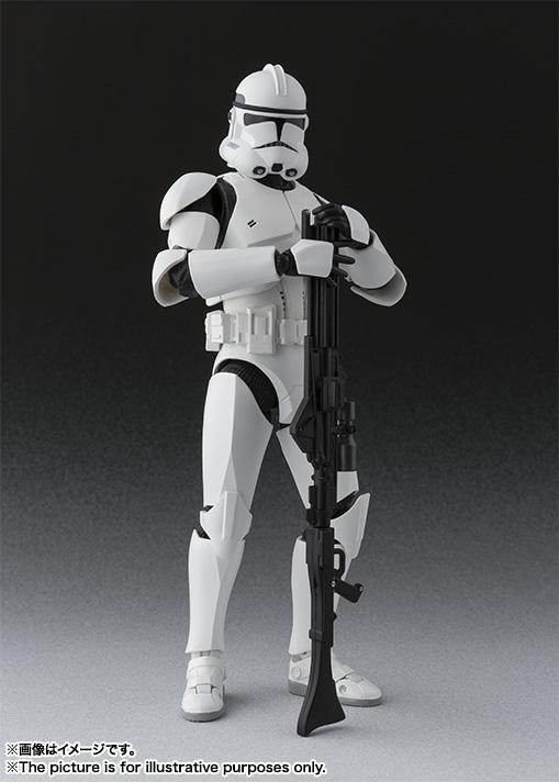 Star Wars Clone Trooper SH Figuarts Bandai pics 03