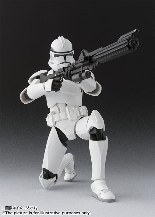 Star Wars Clone Trooper SH Figuarts Bandai pics 04