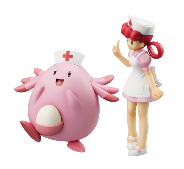 g.e.m. series pokemon joy & chansey megahouse itakon.it -003