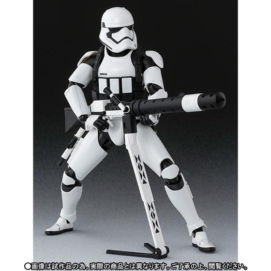 First Order Stormtrooper: Heavy Gunner ver. SH Figuarts da ''Star Wars''