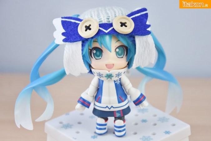 Snow Miku Owl Ver - Nendoroid 570 - Good Smile Company - Recensione - Foto 40