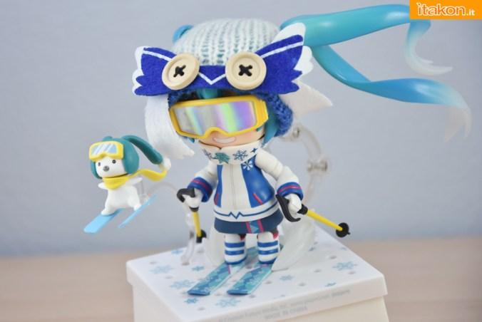 Snow Miku Owl Ver - Nendoroid 570 - Good Smile Company - Recensione - Foto 65