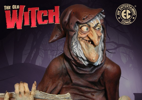 Tweeterhead-EC-Comics-Old-Witch-Statue-003