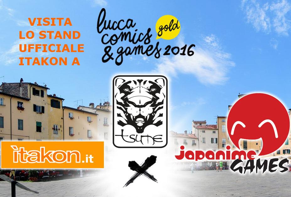 itakon.it a Lucca Comics & Games 2016 con Tsume!!