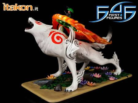 "First 4 Figures: Amaterasu 1/4 Exclusive Edition da ""Okami"" – Video Recensione"