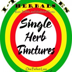 Single Herb Tinctures