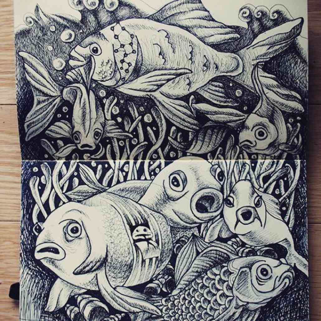 Moleskine art su Instagram 1