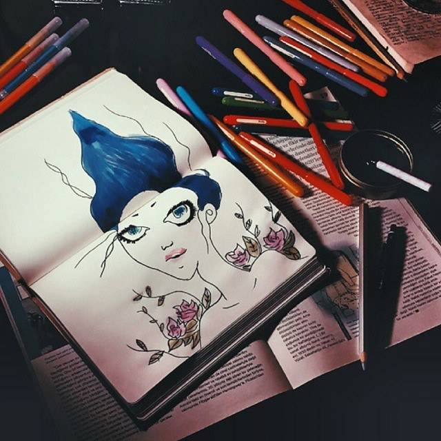 Moleskine art su Instagram 2