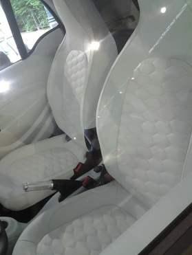 Torino - auto esposte al Salone nel Parco del Valentino