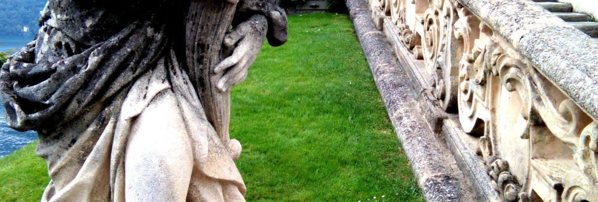 Il giardino della Villa del Balbianello