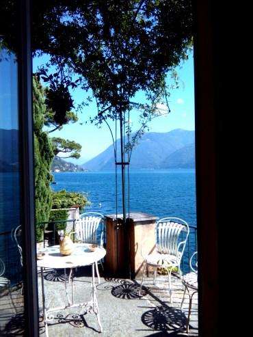 villa Fogazzaro - la vista più bella dal balconcino