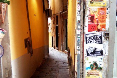 caruggi di Genova