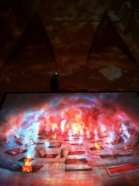 bozza di Zeffirelli per l'Inferno di Dante
