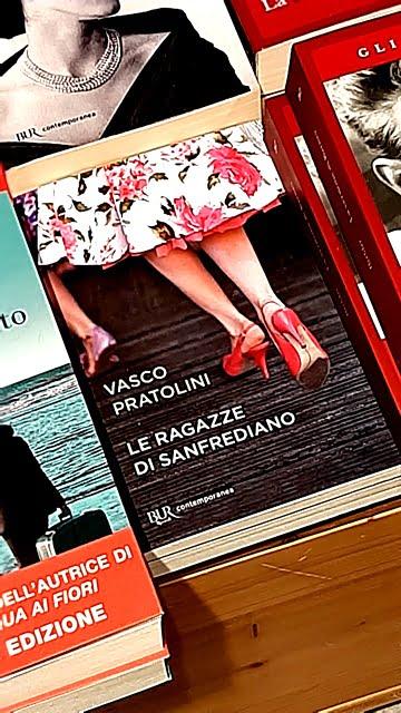 i classici della letteratura italiana - copertina delle Ragazze di San Frediano di Vasco Pratolini