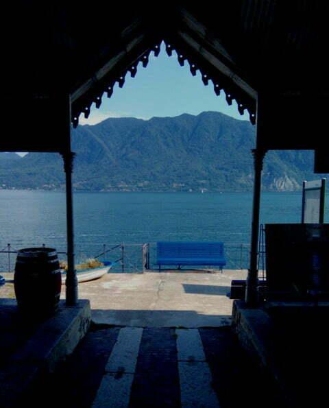 Lungolago sul lago Maggiore: l'imbarcadero di Ghiffa