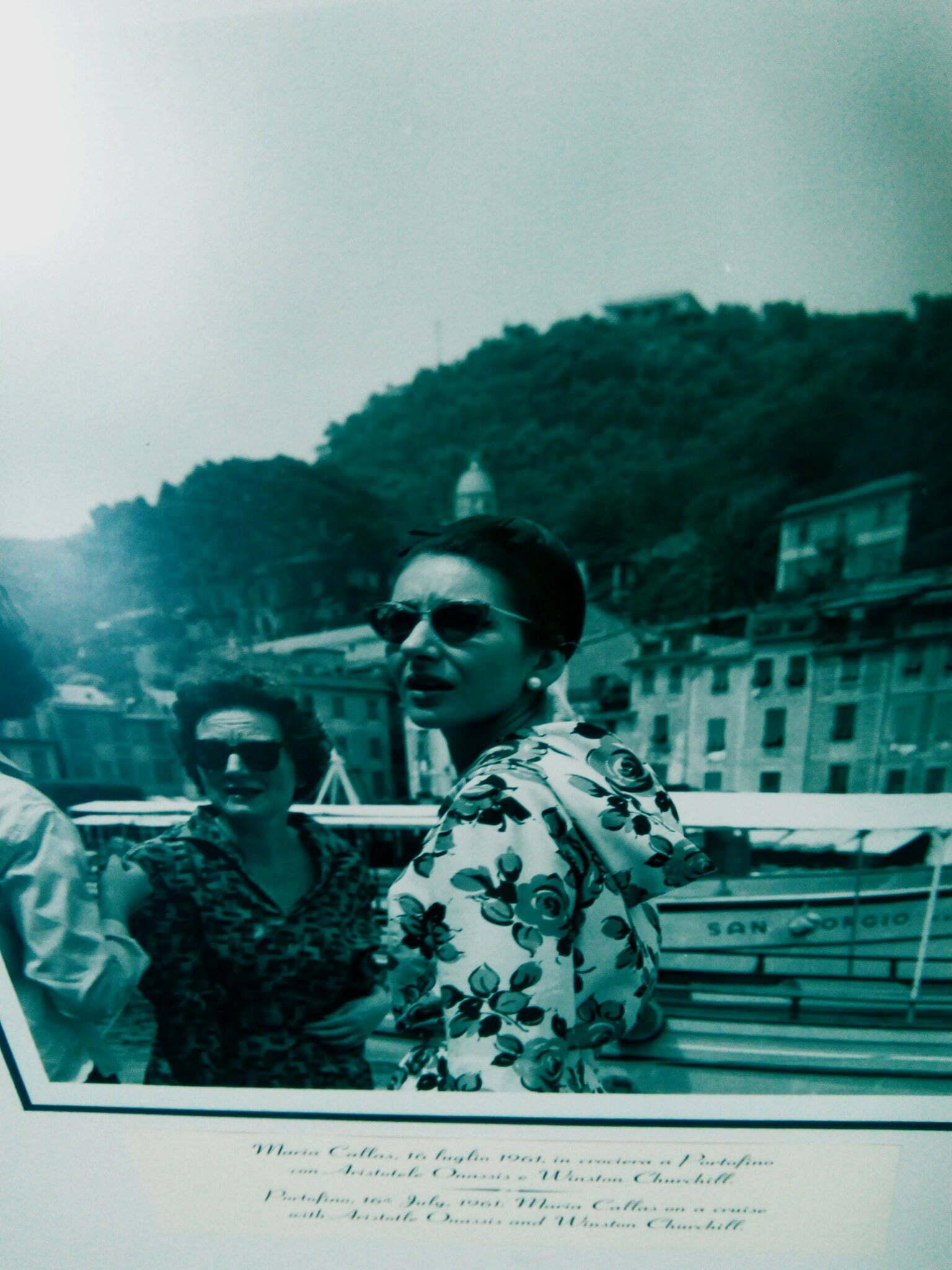 Maria Callas a Portofino