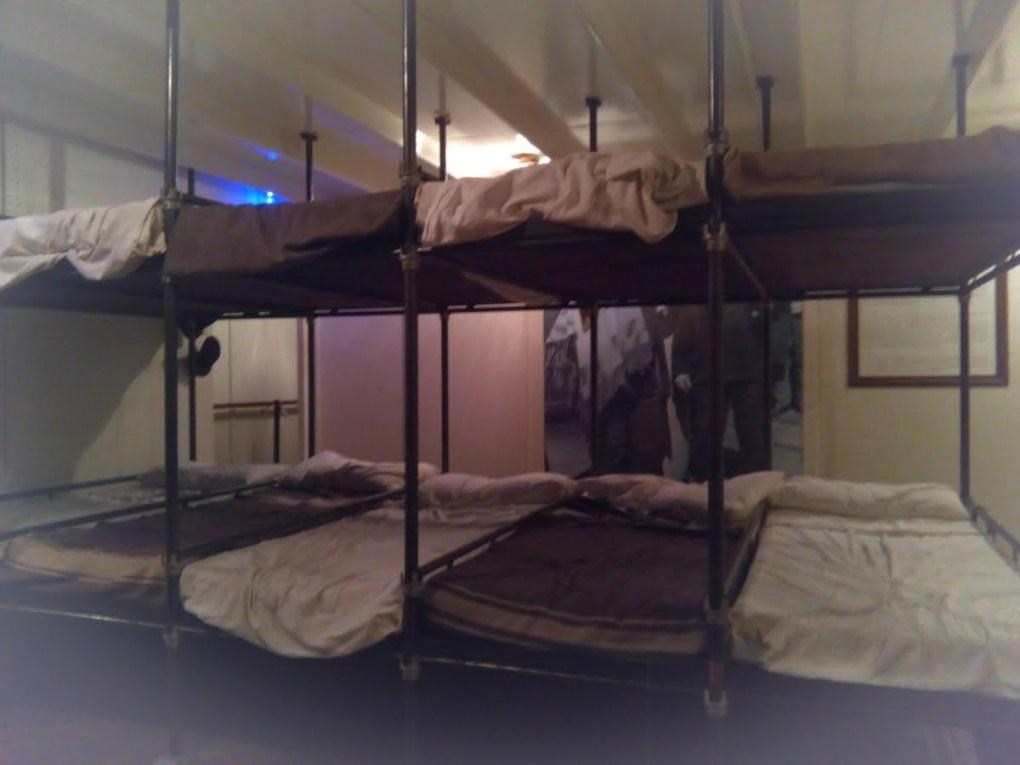 Museo del Mare di Genova interno - la sezione dedicata all'emigrazione in America