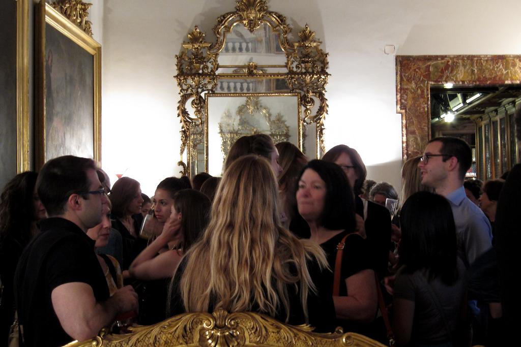 2013 IAS/Kress Lecture, Fondazione Marco Besso, Rome. Photo Credit: Olga Posazhennikova.