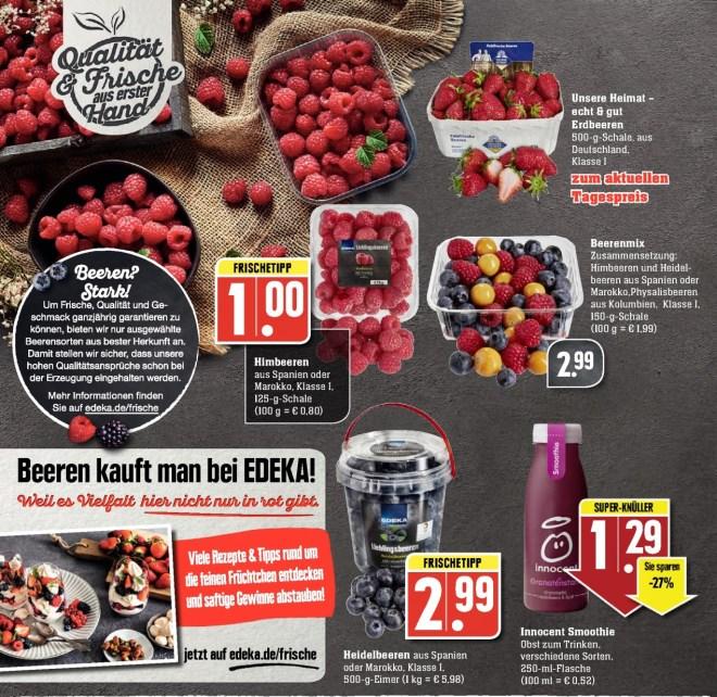 Promozione piccoli frutti in Germania - Edeka