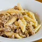 Penne with Sausage and Cream