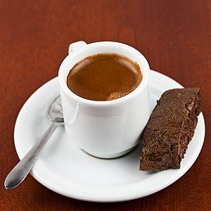 Espresso With Biscotti