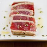 Seared Tuna With Rosemary Oil
