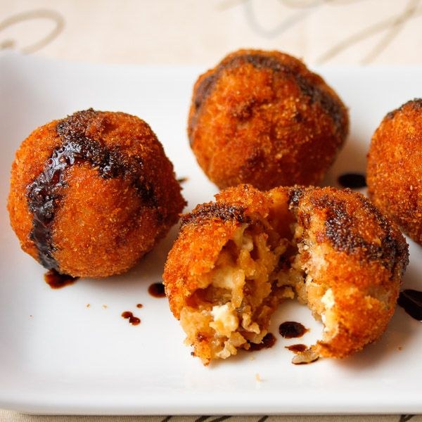 Arancini with Fig, Prosciutto and Gorgonzola