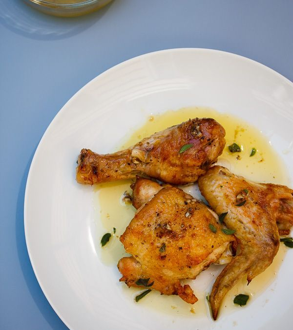 Grilled Chicken with Salmoriglio