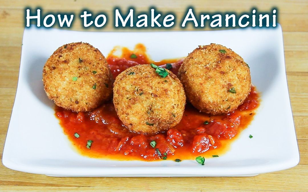 Online Cooking Class – How to Make Arancini