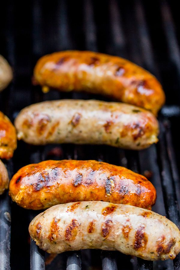 Sausage on The Grill