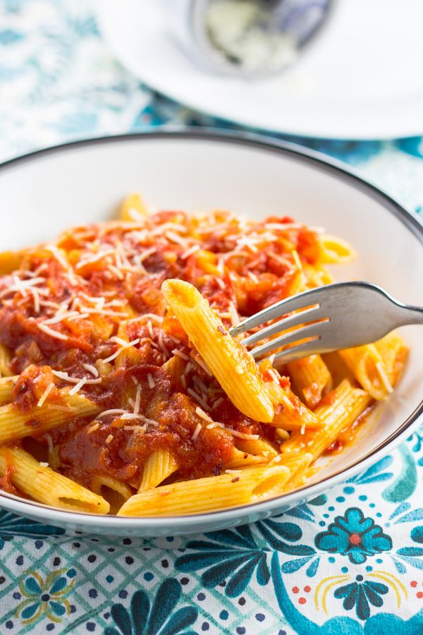 penne arrabiata the italian chef