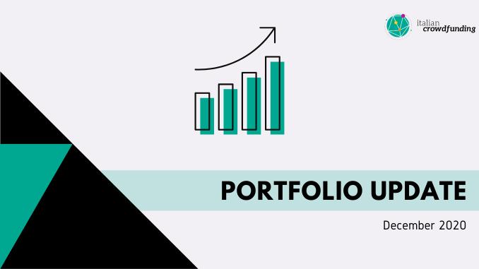 P2P Portfolio update december 2020