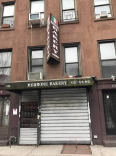 Marone's Bakery in East Harlem.