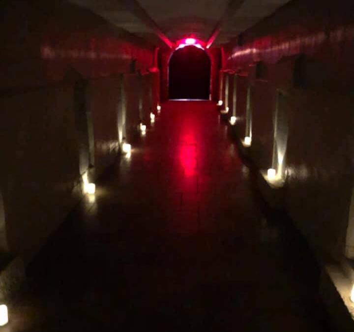 A Candlelight Tour Of The Catacombs In Little Italy And The Crypt Of Countess Annie Leary, The First Pro-Italian American Philanthropist