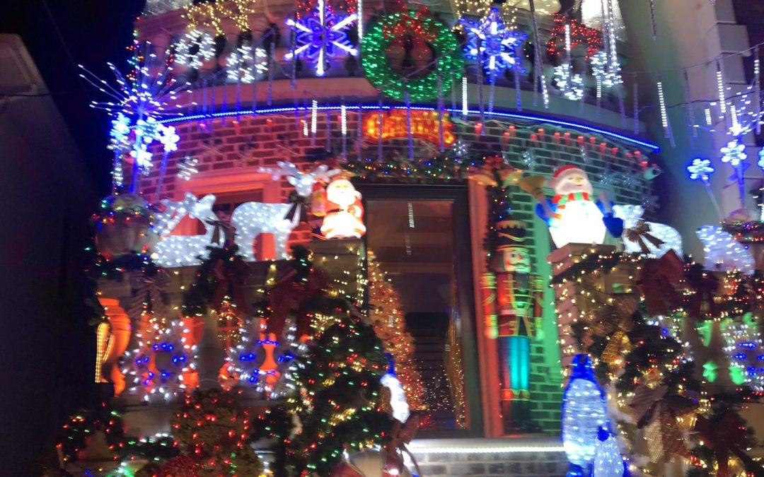 A Comparison Of Christmas Lights, Decorations and Nativities in Dyker Heights and Bay Ridge; Part 2