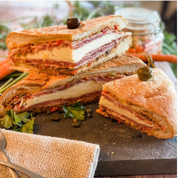 Muffuletta : A Classic Italian American Sandwich from the New Orleans Italian Enclave
